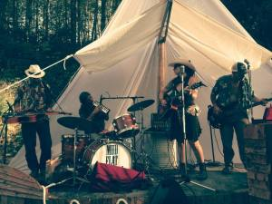 mudflat walkers tent